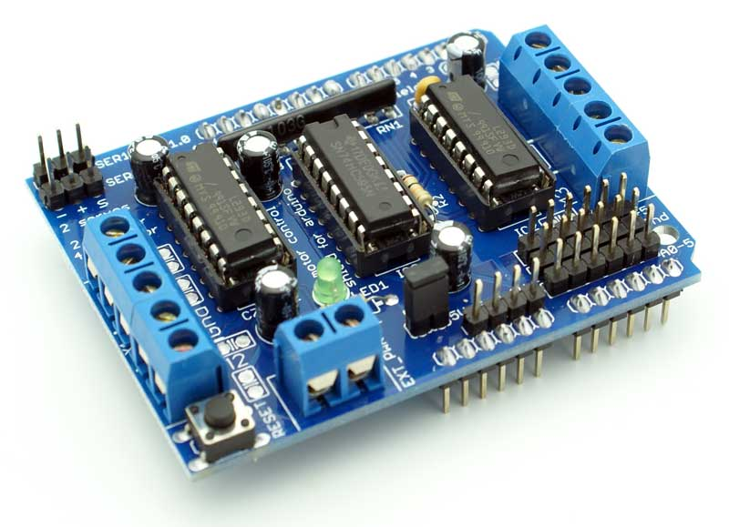 Motor Drive Shield dual L293D for arduino
