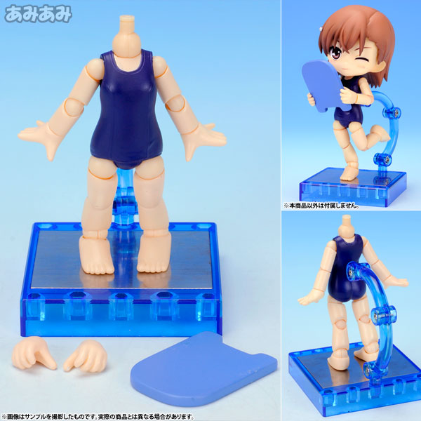 Cu-poche Extra - School Swimsuit Body Posable Figure(Pre-order)