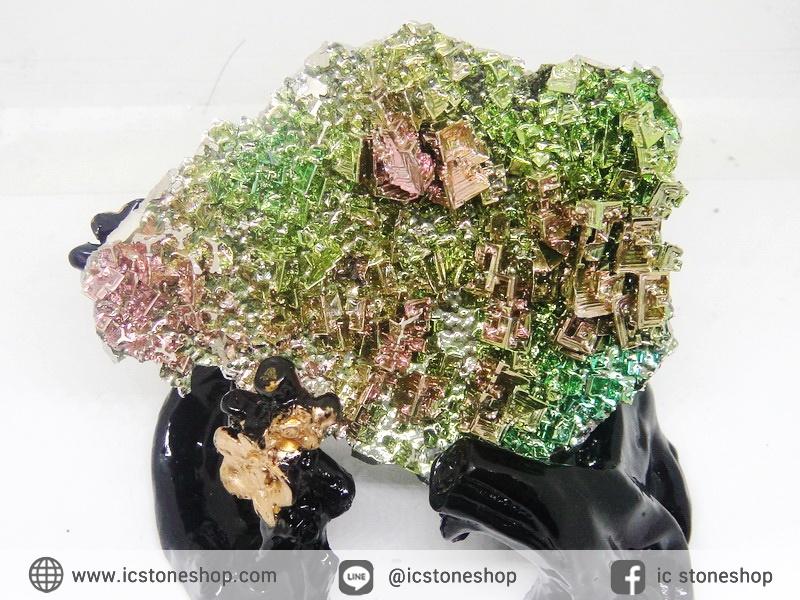 บิสมัท Bismuth รูปแบบแร่ที่มนุษย์ทำขึ้น(149g)