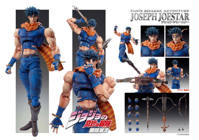 Super Action Statue - JoJo's Bizarre Adventure Part.II 30. Joseph Joestar (Hirohiko Araki Specified Color)(Pre-order)