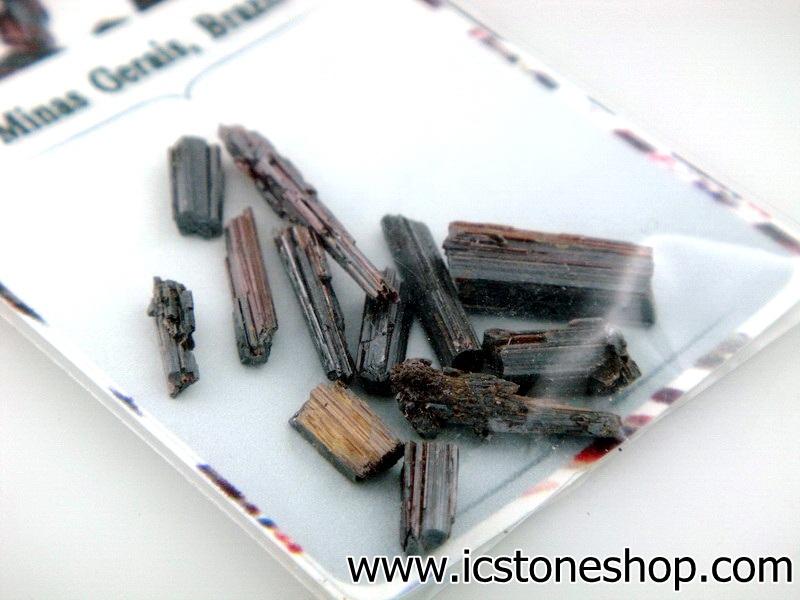 ▽ไหมแดง Red Rutile Needle Cryatal-Brazil (12ชิ้น)