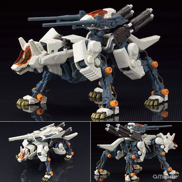 HMM ZOIDS 1/72 RHI-3 Command Wolf Repackage Edition Plastic Model(Pre-order)