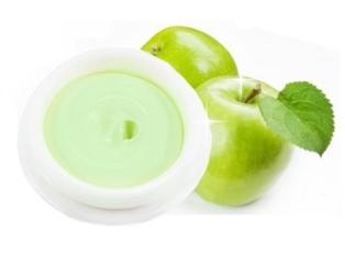 มาส์กแอปเปิ้ลนมสด สูตรไม่ต้องล้างออก พอกผิวหน้าขณะนอนหลับ บำรุงให้ผิวขาวใสเนียนนุ่ม อ่อนเยาว์
