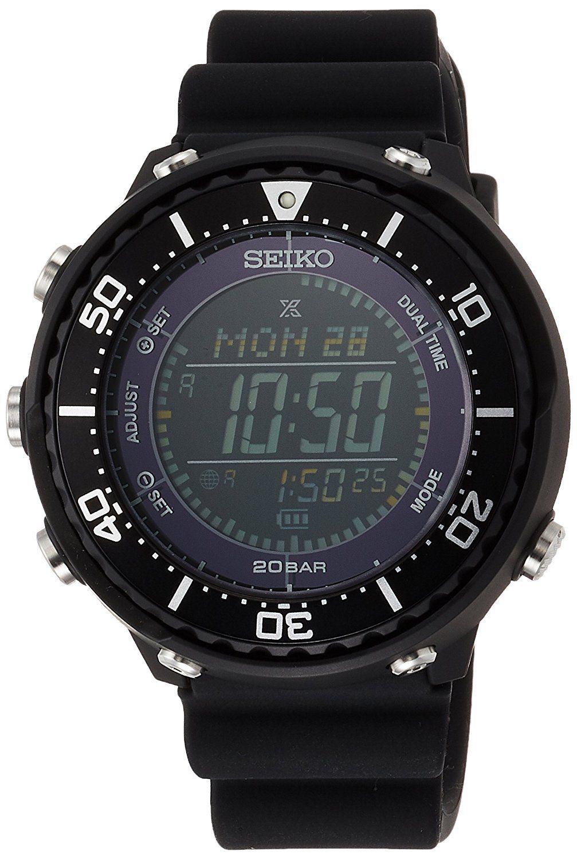 นาฬิกาผู้ชาย Seiko รุ่น SBEP001, Prospex Fieldmaster LOWERCASE Solar Men's Watch