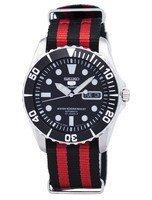 นาฬิกาผู้ชาย Seiko รุ่น SNZF17J1-NATO3, Seiko 5 Sports Automatic 23 Jewels NATO Strap