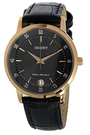 นาฬิกาผู้หญิง Orient รุ่น SUNG6001B0, Quartz Rose Gold Leather Strap Japan Made Women's Watch
