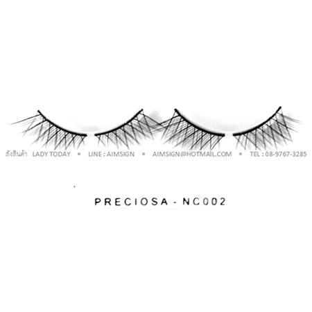 PRECIOSA EYELASH รุ่น NATURAL CLEAR (NC002)