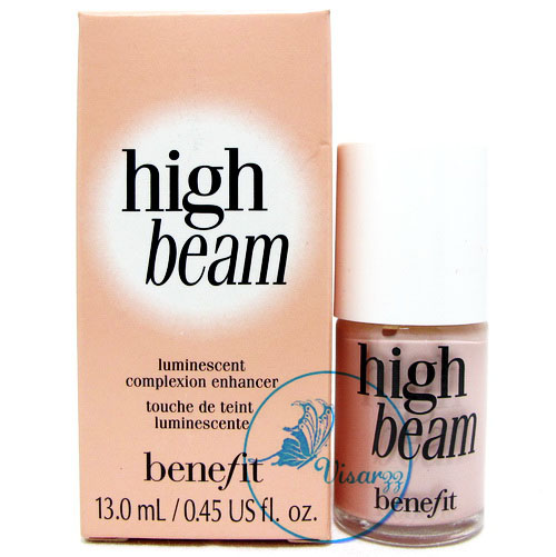 Benefit High Beam Luminescent Complexion Enhancer 13mL ไฮไลท์เตอร์เหลวสีชมพูประกายมุข หน้าสว่างอมชมพูประกาย