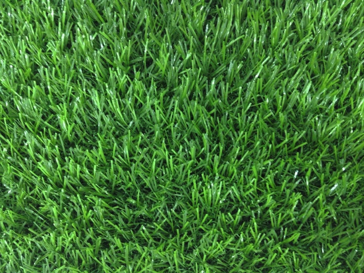 หญ้าเทียม รุ่น 2.5 cm.สีเขียวล้วน
