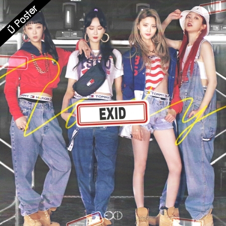 "[PRE-ORDER] EXID - Single Album 1st ""LADY"""