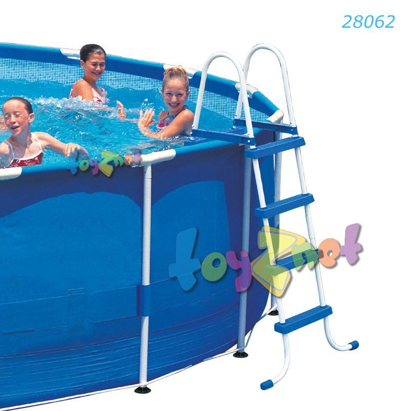 Intex บันไดสระน้ำ - สระสูง 48 นิ้ว (122 ซม.) รุ่น 28062