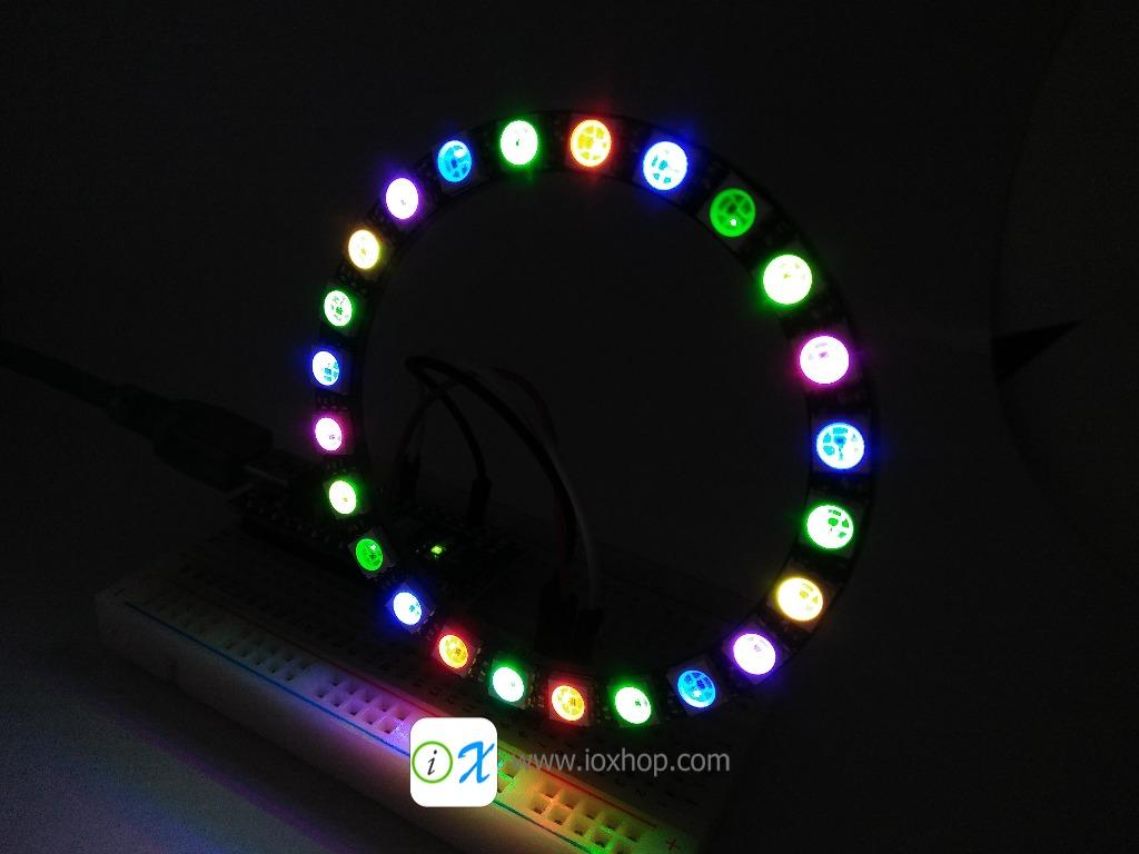 NeoPixel Ring 24 Bit WS2812 5050 RGB LED