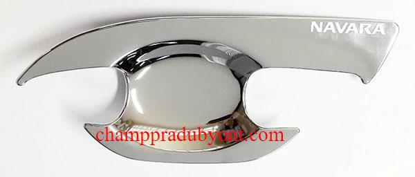 ถ้วยรองมือเปิดประตูโครเมี่ยม NISSAN NAVARA 14-16 (V.4)
