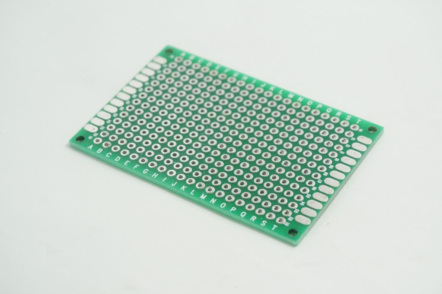 แผ่น PCB อเนกประสงค์ สองหน้า 4x6cm