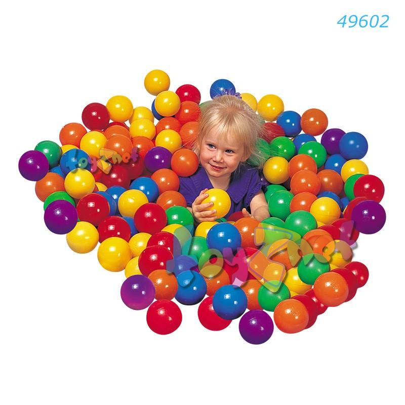 Intex ฟันบอล 6.5 ซม. แพ็ค 100 รุ่น 49602