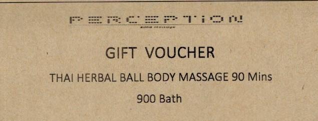 Thai herbal ball body massage 90 mins