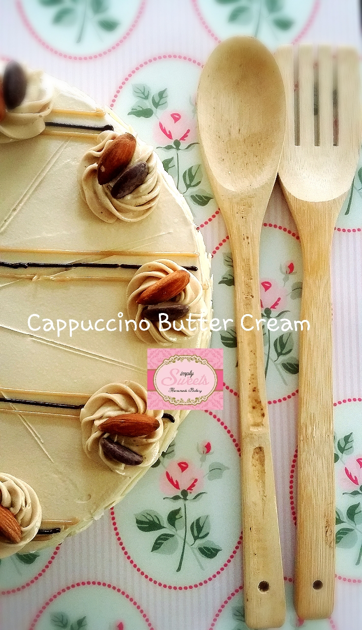 Cappuccino Butter Cream Cake