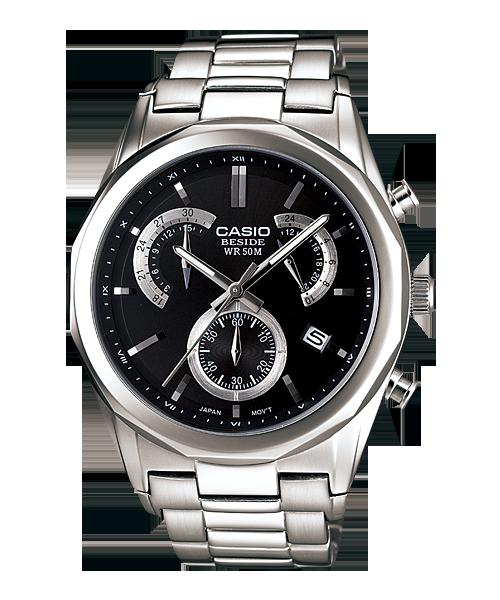 นาฬิกา คาสิโอ Casio BESIDE CHRONOGRAPH รุ่น BEM-509D-1AV
