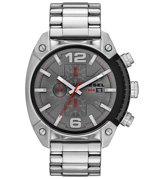 นาฬิกาข้อมือ ดีเซล Diesel Overflow - Chronograph Stainless Steel Men's watch รุ่น DZ4298