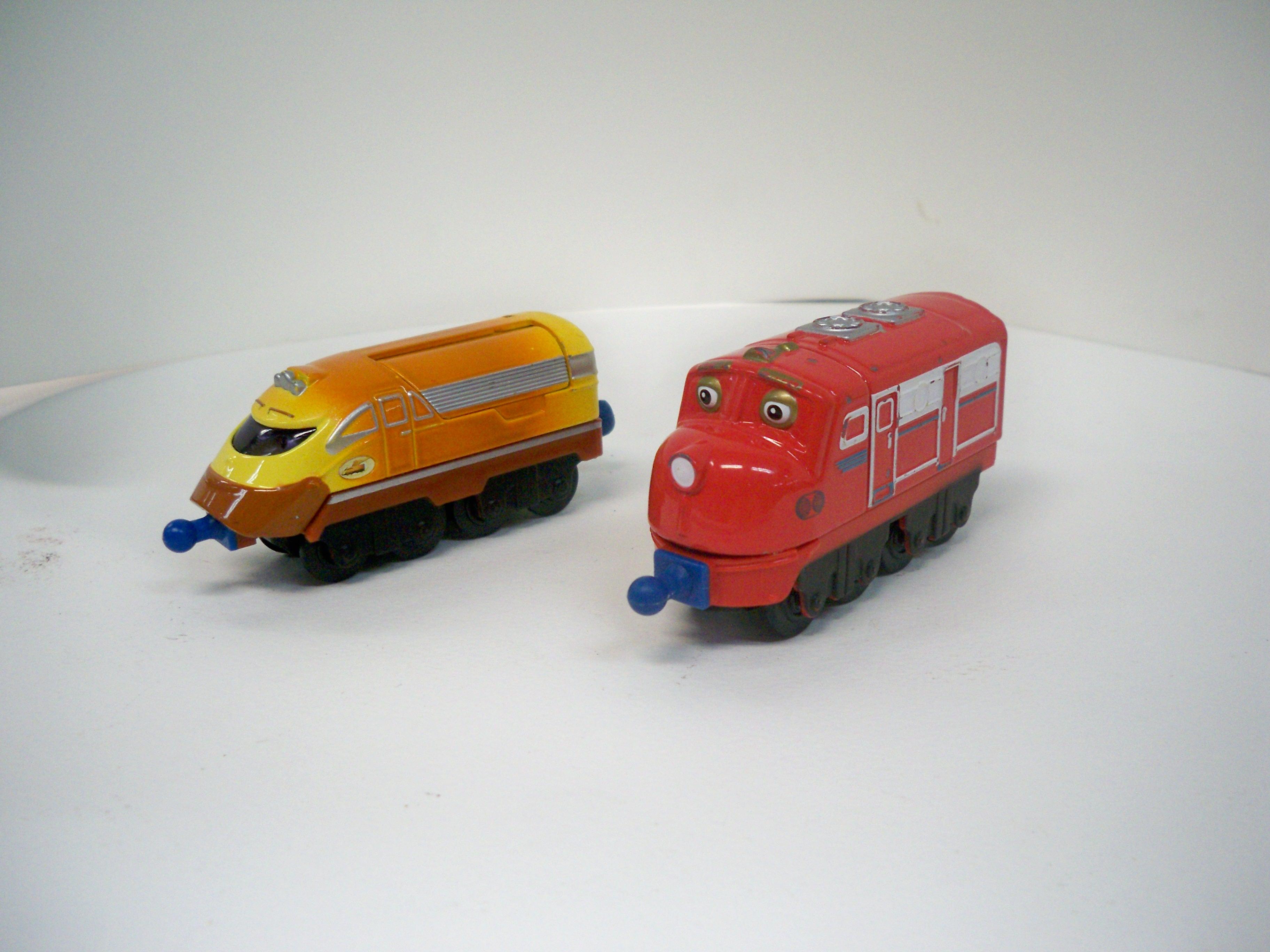 chuggington รถไฟเหล็กชักกิงตัน