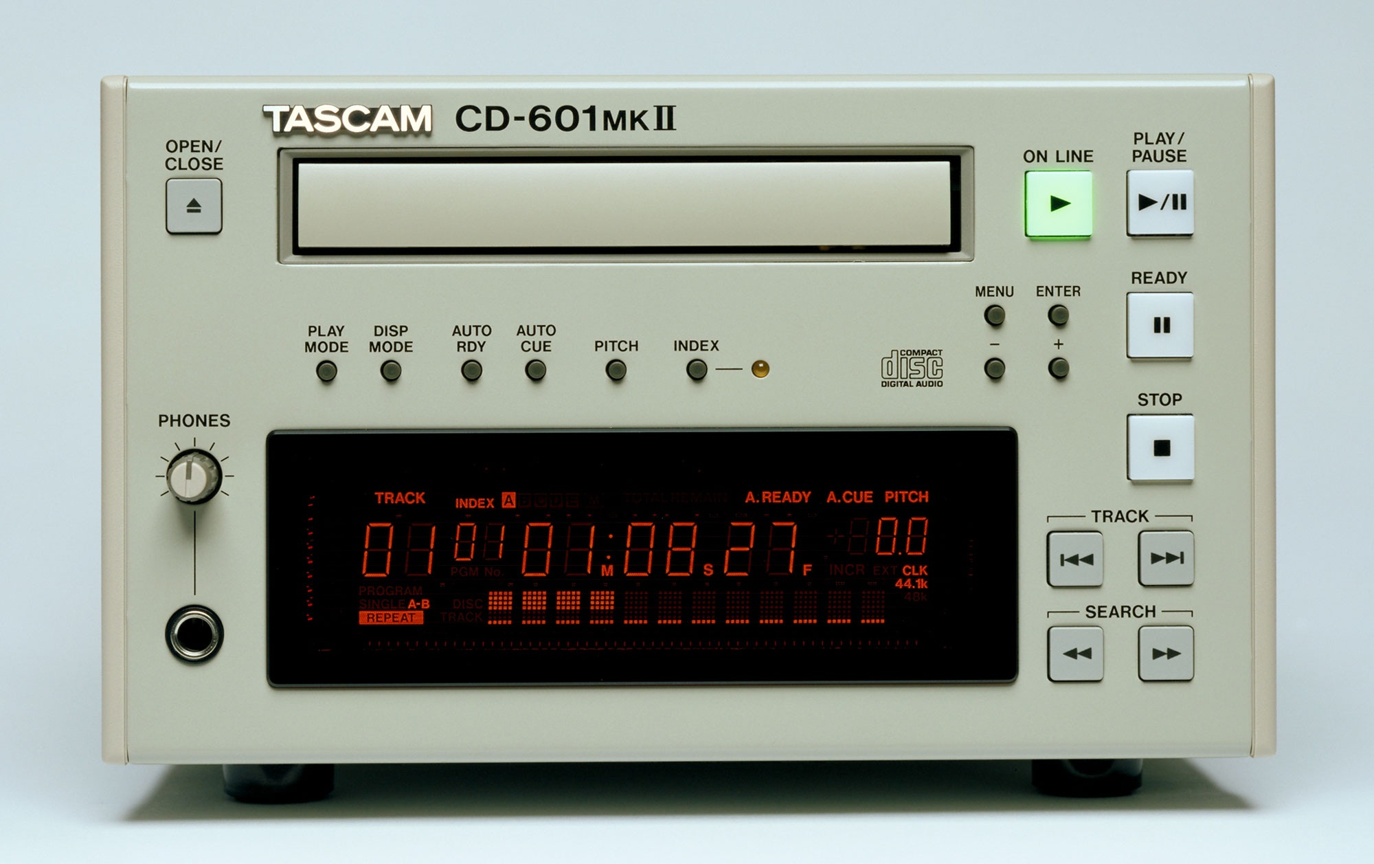 TASCAM CD-601MKll Compact Disc Player