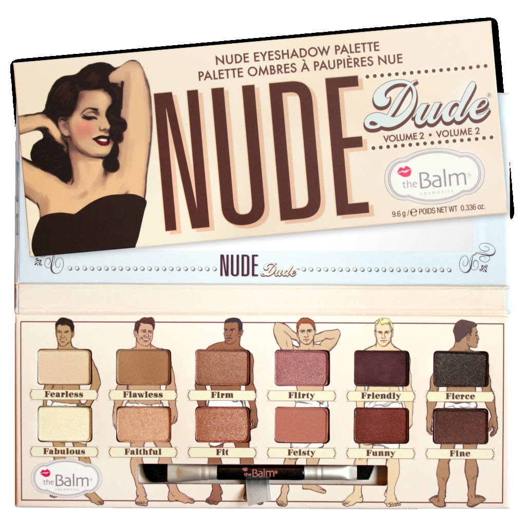 The Balm Nude Dude Volume2 Eye Shadow Palette
