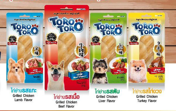 โทโร โทโร่ ขนมสุนัข