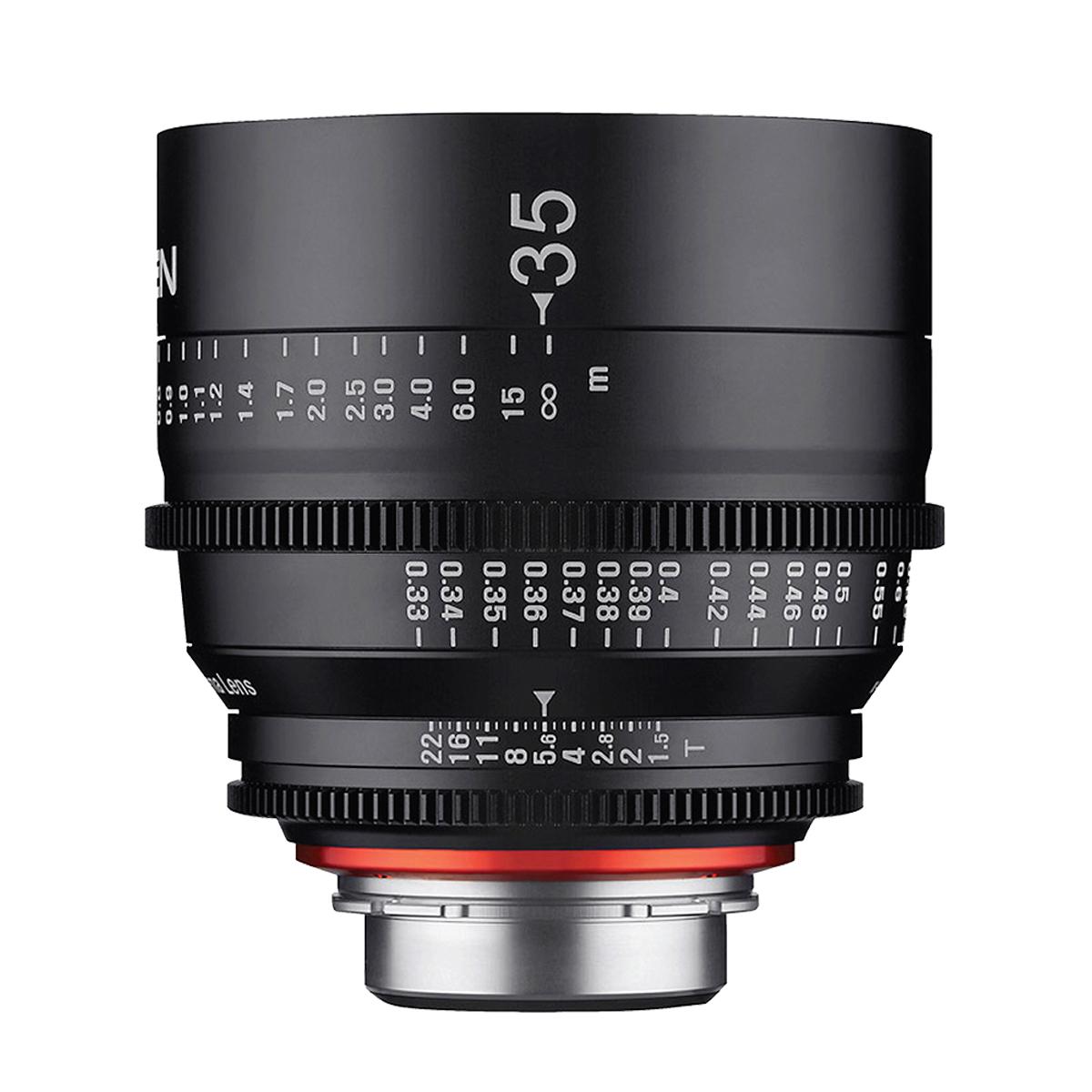 Xeen 35mm T1.5 – Sony E