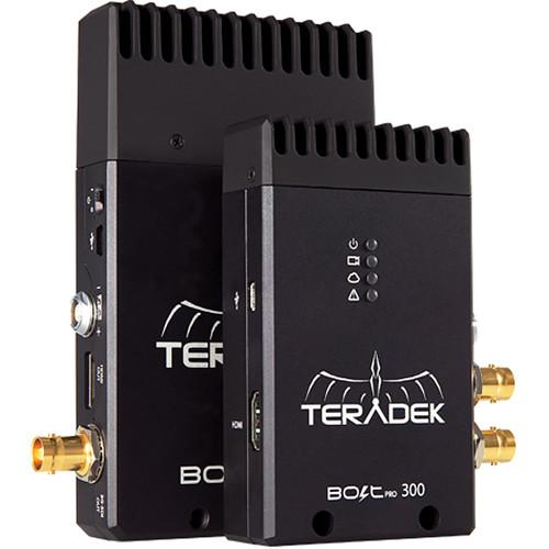 Teradek Bolt Pro 300 3G-SDI Wireless Transmitter-Receiver Set
