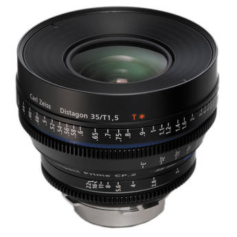 Zeiss Compact Prime CP.2 35mm/T1.5 Super Speed MFT Mount with Imperial Markings B