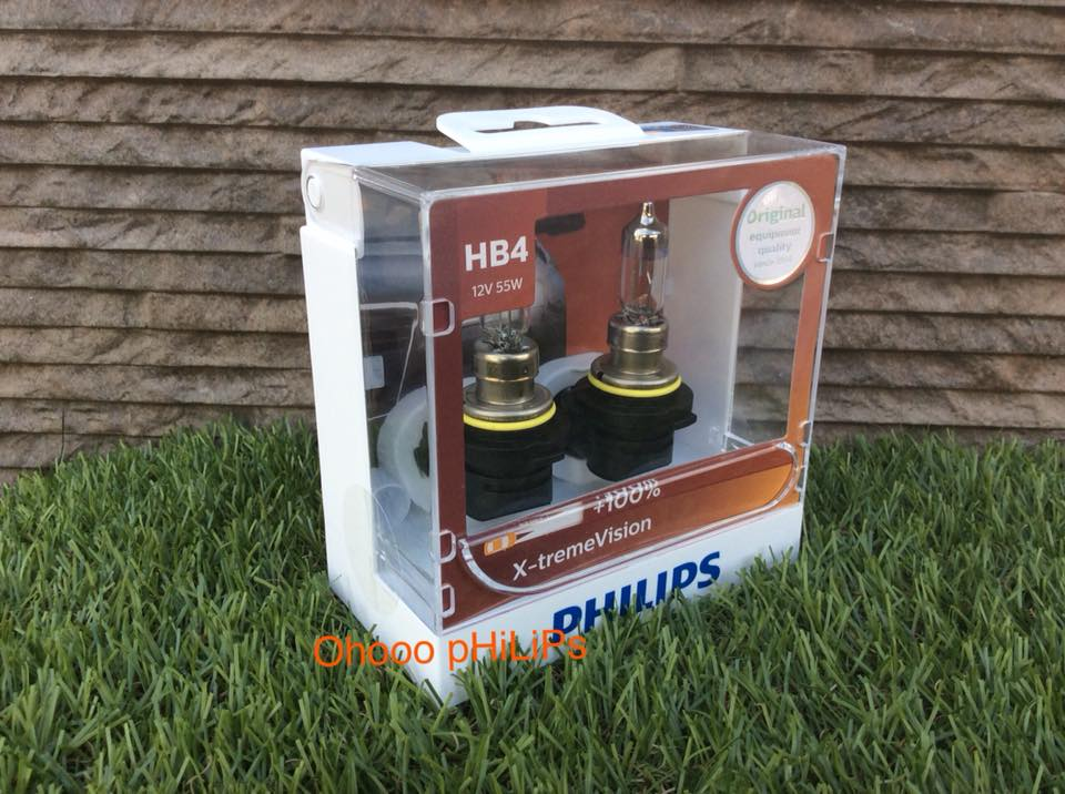 Philips X-treme vision+100% HB4
