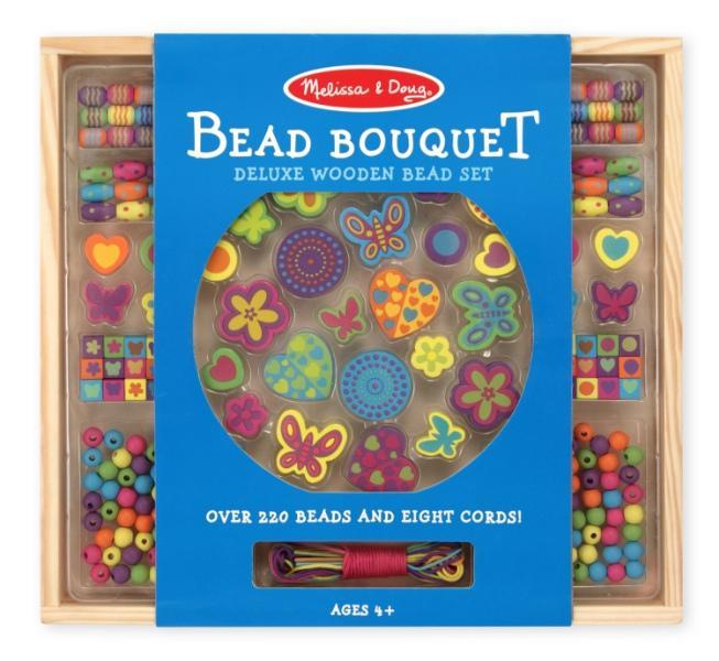 ร้อยลูกปัดชุดใหญ่ Wooden Bead Set - Alphabet