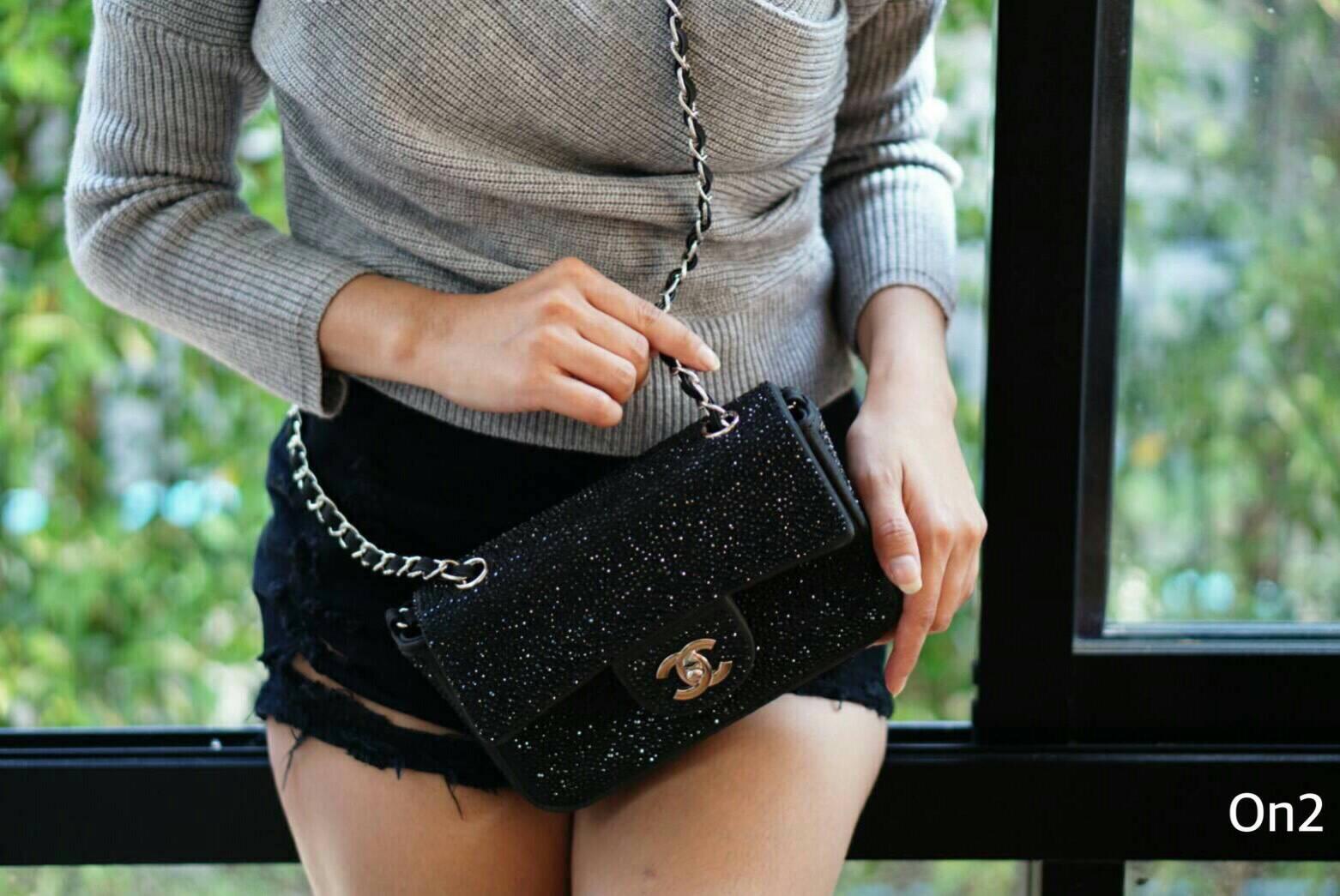 💞*Chanel mini crystal bag *💞