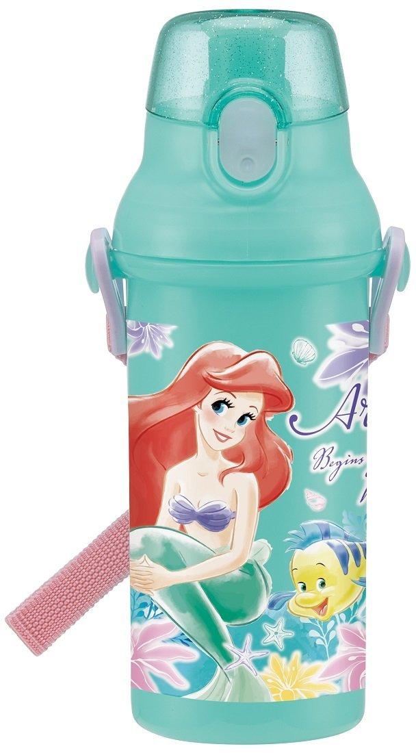 กระติกน้ำแบบยกดื่มสำหรับเด็กลายเจ้าหญิง Ariel [Japan]