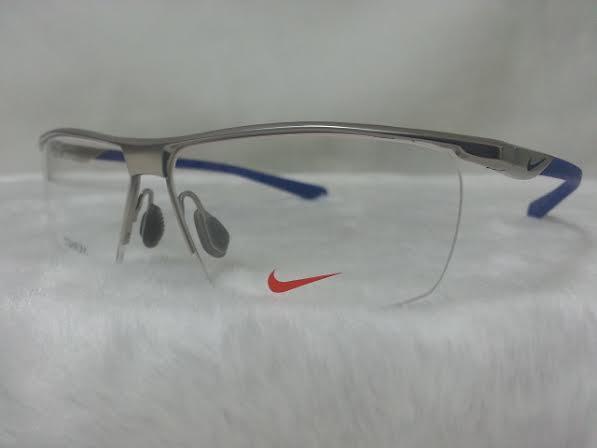 NIKE BRAND ORIGINALแท้ TITAUIUM 6055/2 048 กรอบแว่นตาพร้อมเลนส์ มัลติโค๊ตHOYA ป้องกันรังสีคอม 7,200 บาท