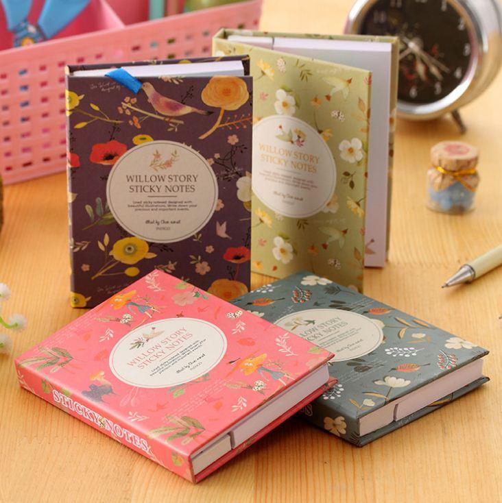Willow Story Sticky Notebook