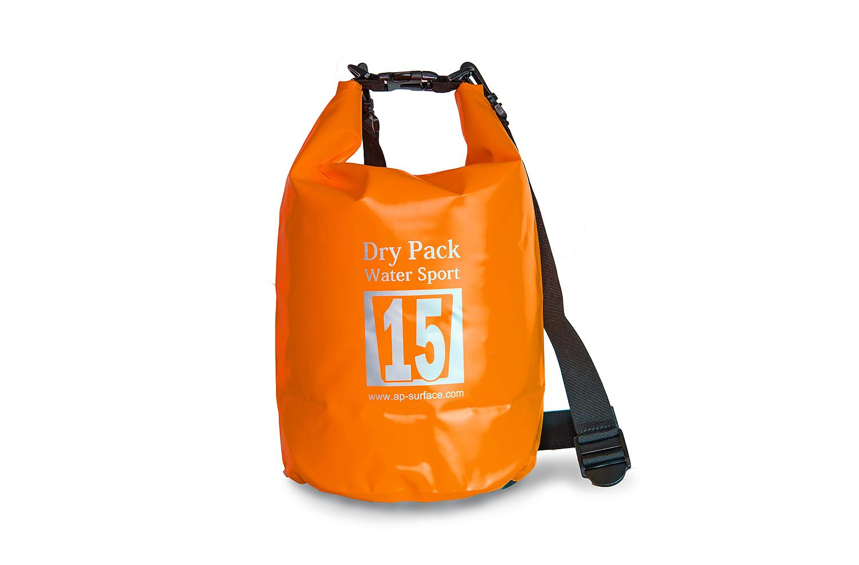 กระเป๋ากันน้ำ Dry pack 15L-สีส้ม