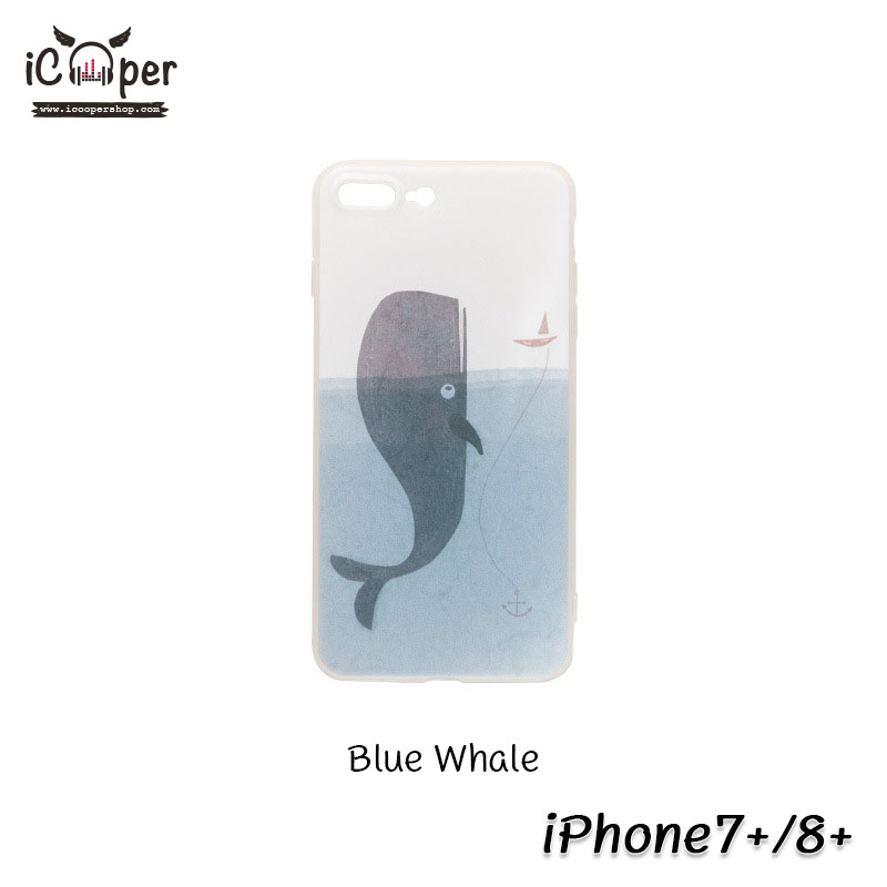 MAOXIN Island Case - Blue Whale (iPhone7+/8+)