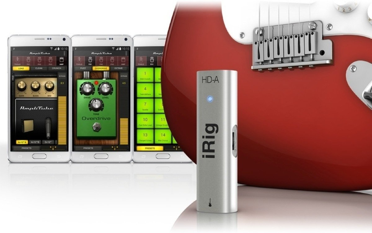 IRIG HD – A GUITAR INTERFACE / ANDROID