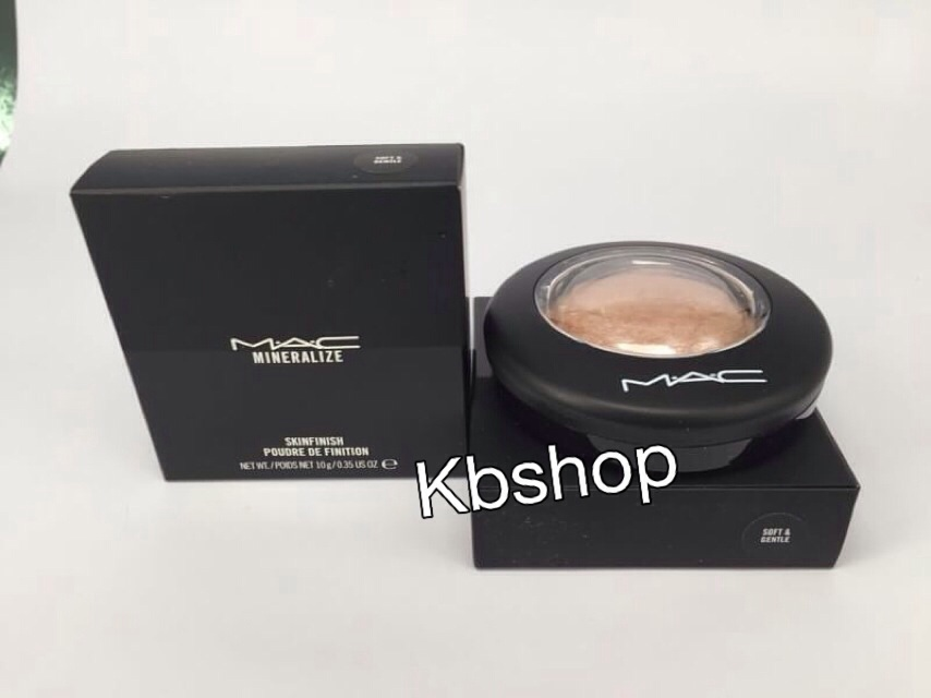 #MAC Mineralize Skinfinish Natural 10g.สี SOFT AND GENTLE