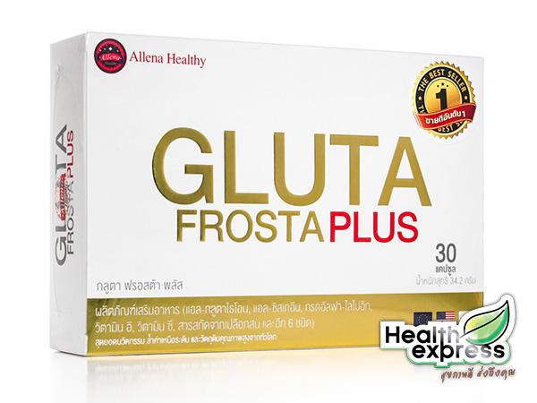 Gluta Frosta Plus กลูต้า ฟรอสต้า พลัส บรรจุ 30 แคปซูล
