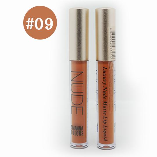 Sivanna Colors Luxury Nude Matte Lip liquid No.09