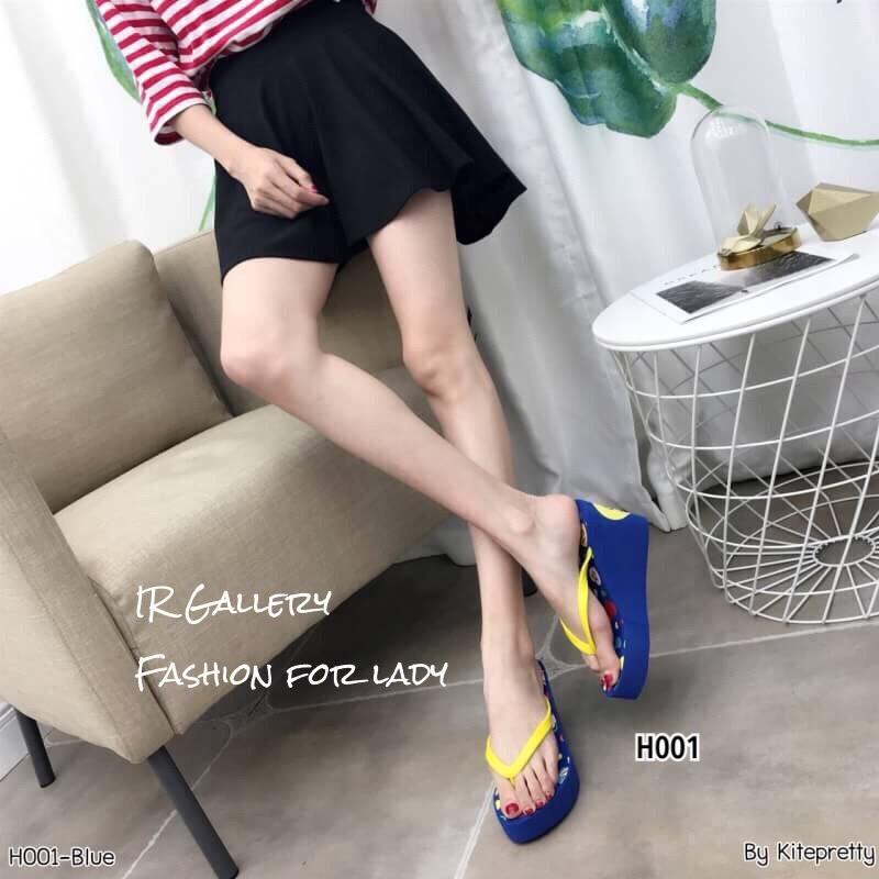 รองเท้าเตารีดคีบพอลแฟรง H001-กรม (สีกรม)