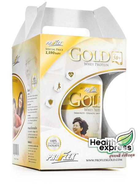 Proflex Gold Whey Protein โปรเฟลคซ์ โกลด์ เวย์ โปรตีน น้ำหนักสุทธิ 700 g.