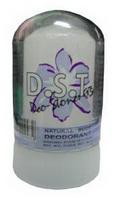 โรลออนสารส้ม สีขาว มีกลิ่นหอม (60กรัม) D.S.T.กำจัดแบคทีเรีย ระงับกลิ่นใต้วงแขน