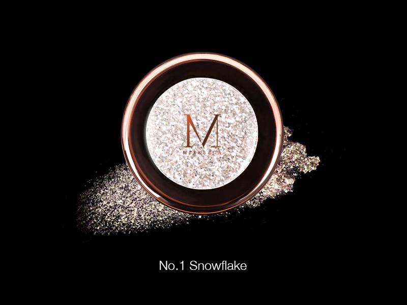 Merrez'ca Pearl Pigment Eyeshadow #01Snowflake