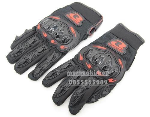 ถุงมือ RACINGBOY riding glove size M L XL ราคา 380