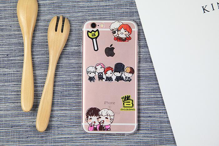 เคสยาง Big Bang - เคส iPhone 5/5S/SE