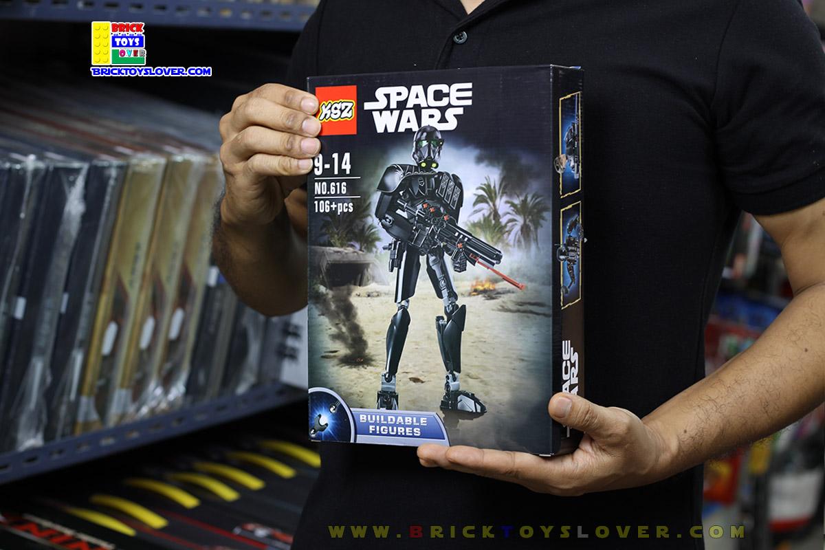616 โมเดลฟิกเกอร์ Imperial Death Trooper ทหารทเดธทรูปเปอร์ของฝ่ายอิมพีเรียล