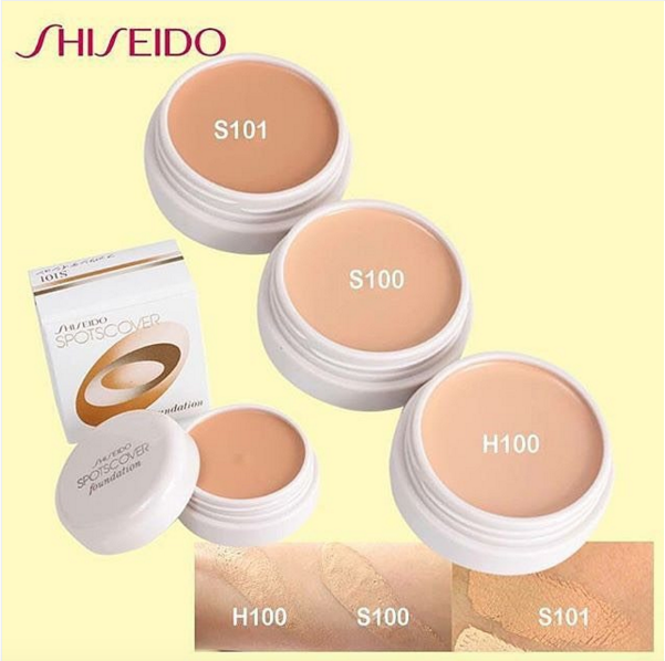 Shiseido SpotsCover Foundation 20g คอนซีลเลอร์เนื้อครีม อันดับ1 จาก Cosme.net มาไวหมดไว !!